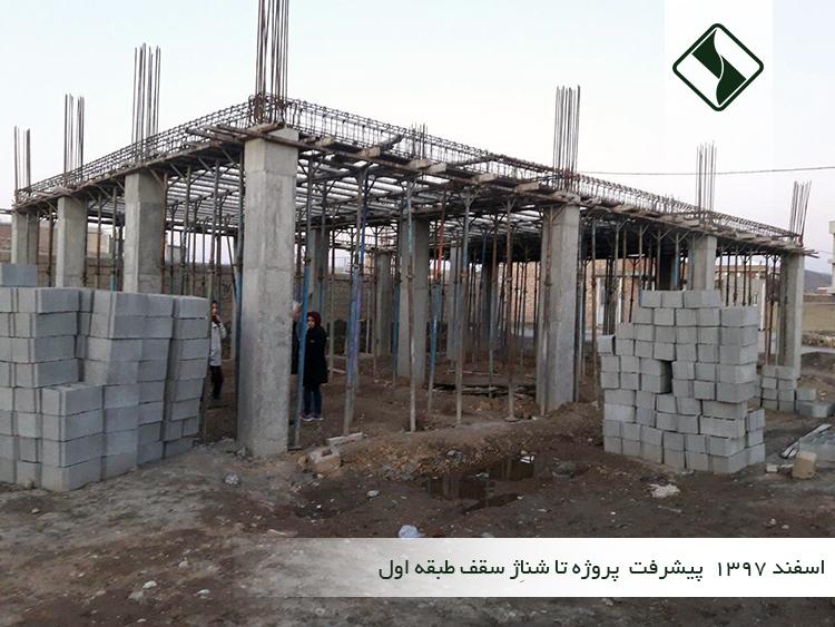 ساخت کتابخانه روناکی موکریان در گوگ تپه (در حال ساخت)