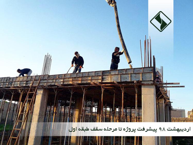ساخت کتابخانه روناکی موکریان (رشد 8) در گوگ تپه (در حال ساخت)