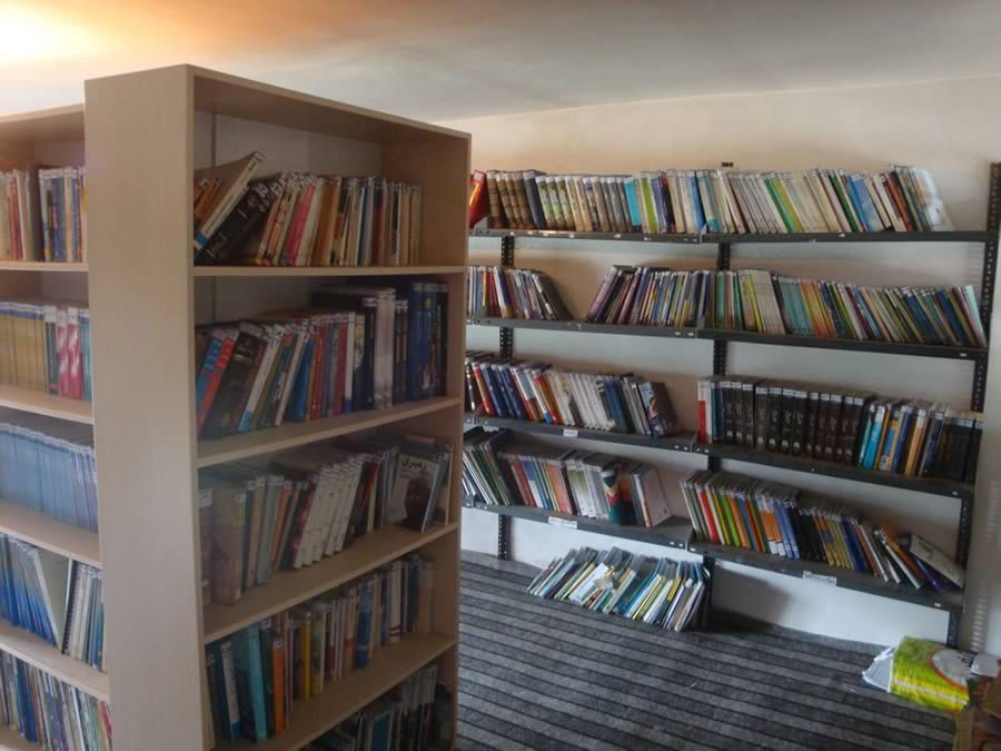کتابخانه دیزج مرگور