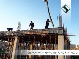 پیشرفت کتابخانه روناکی مکریان